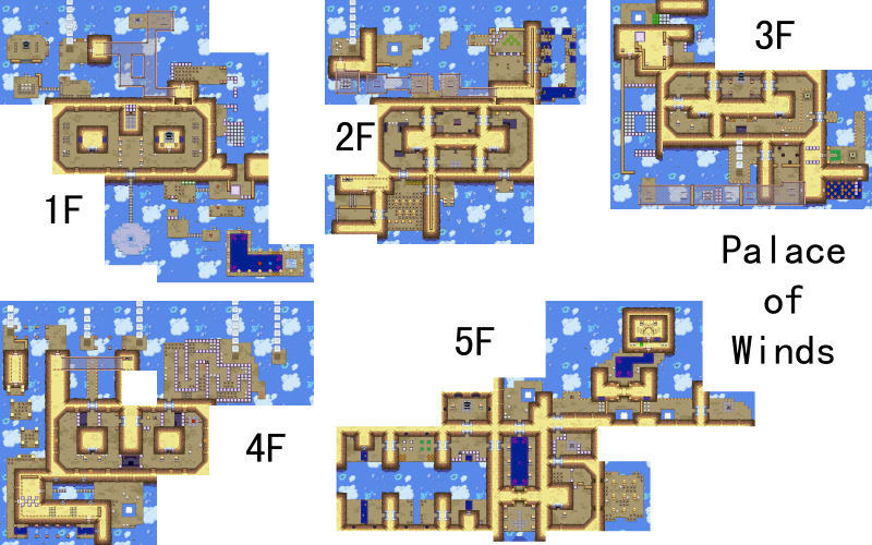 File:Legend of Zelda, The - Minish Cap, The - GBA - Map - Palace of Winds.png