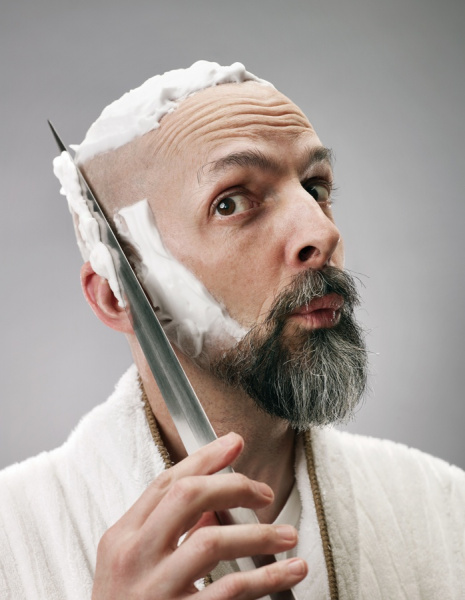File:Neal Stephenson - Shaving.jpg