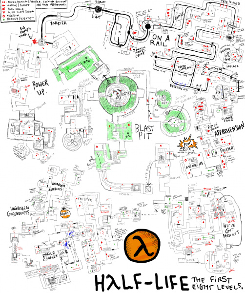 File:Half-Life - W32 - Map - Drawn From Memory.jpg