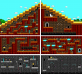 Commander Keen 4 - DOS - Map - Pyramid of the Forbidden.png