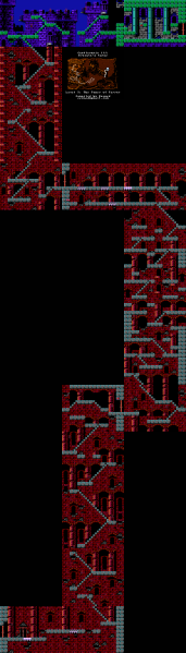 File:Castlevania III - Dracula's Curse - NES - Map - 5-2 - Tower of Terror.png