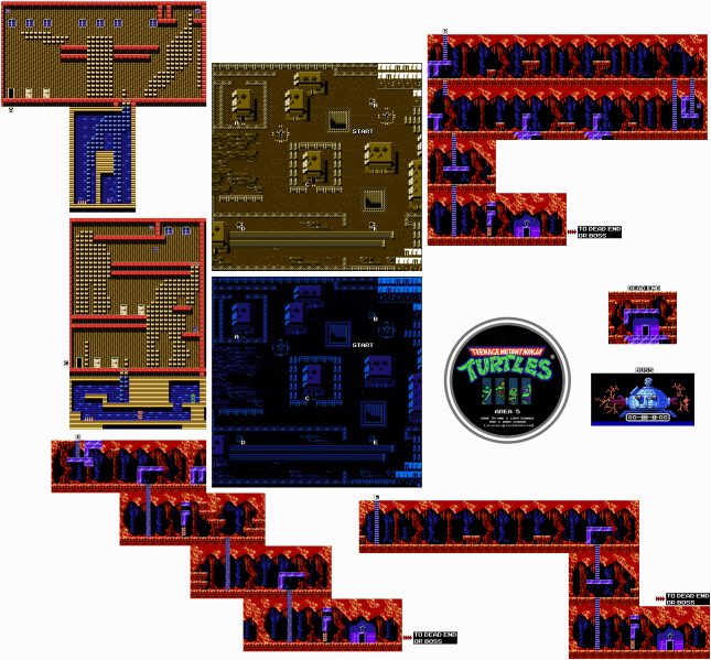 File:Teenage Mutant Ninja Turtles - NES - Map - Area 5.png