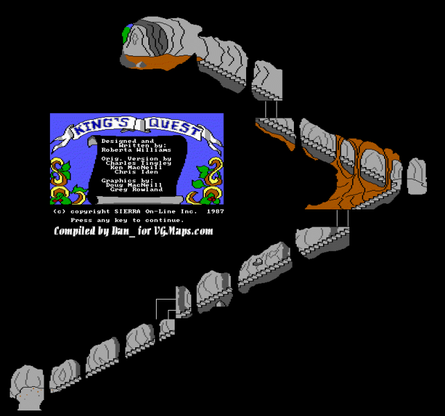 File:King's Quest - DOS - Map - Sky Cave.png