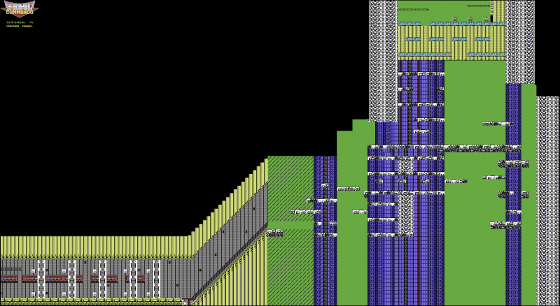 File:Bionic Commando - C64 - Map - Stage 4.png