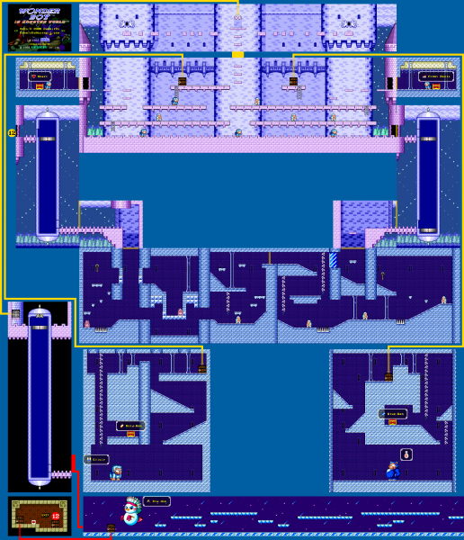 File:Wonder Boy In Monster World - GEN - Map - 13 - Ice Palace.png
