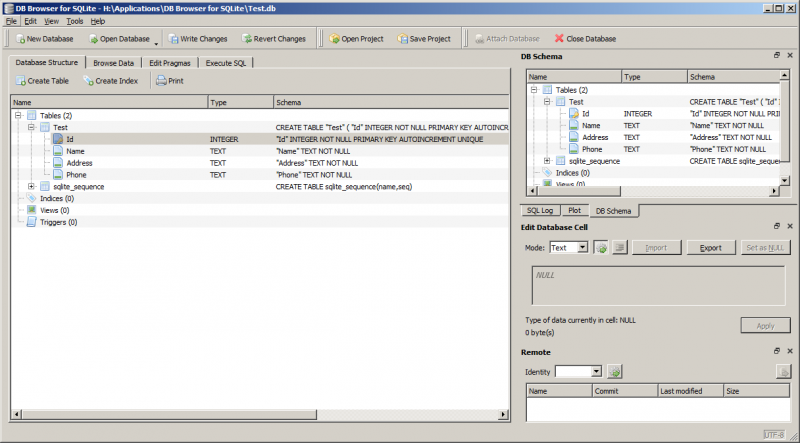 File:DB Browser For SQLite - Screenshot - Database Structure.png