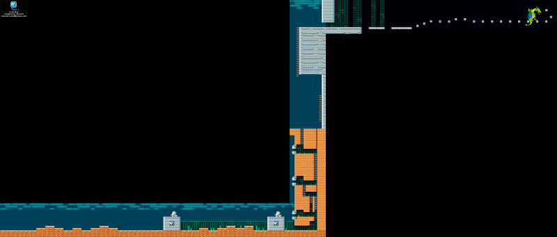 File:Mega Man 2 - Map - Dr Wily 1.png