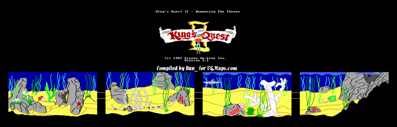 File:King's Quest II - DOS - Map - Underwater.png
