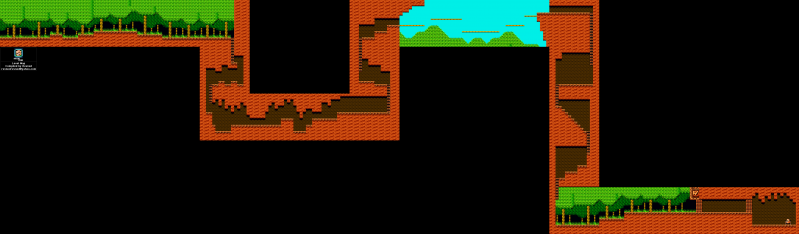 File:Mega Man 2 - Map - Wood Man.png