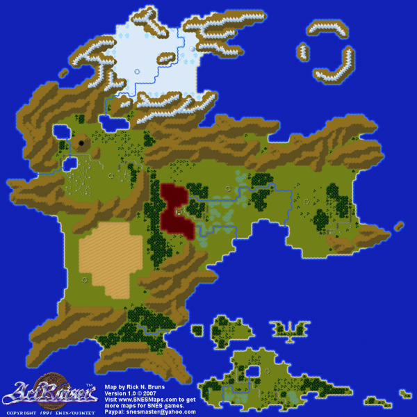 File:ActRaiser - SNES - Map - World - Unpopulated.png