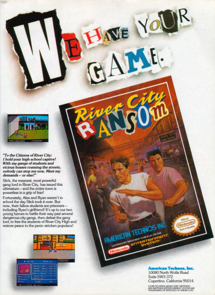 File:River City Ransom - NES - Ad.jpg