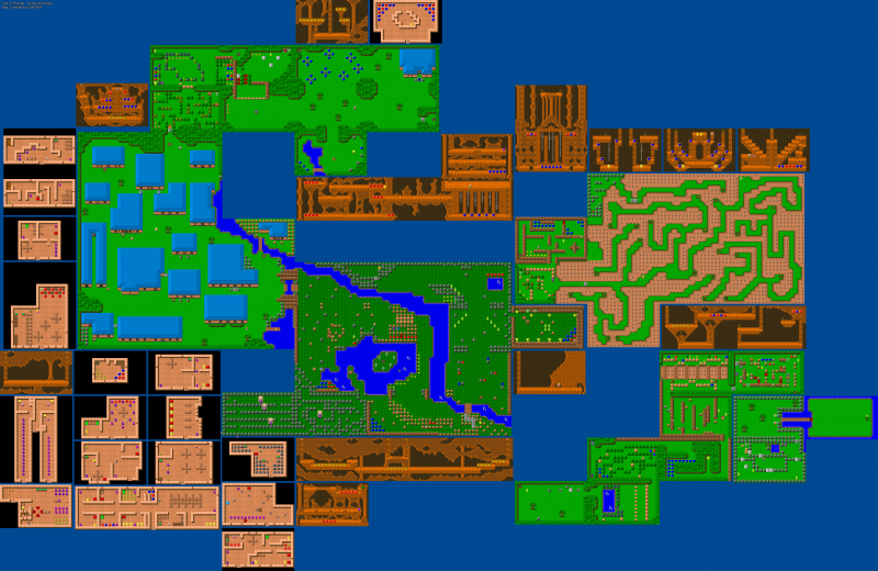 File:God of Thunder - DOS - Map - Episode 1.png