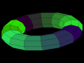 QuickBASIC - DOS - Screenshot - Torus.png