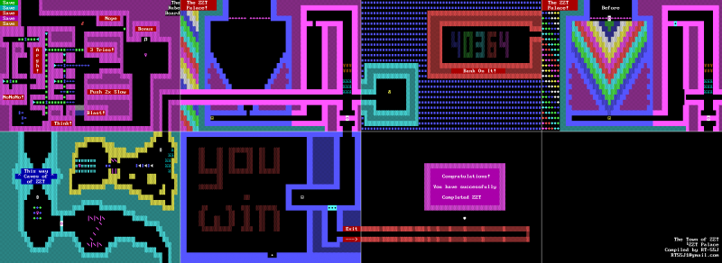 File:ZZT - DOS - Map - Town - Palace.png