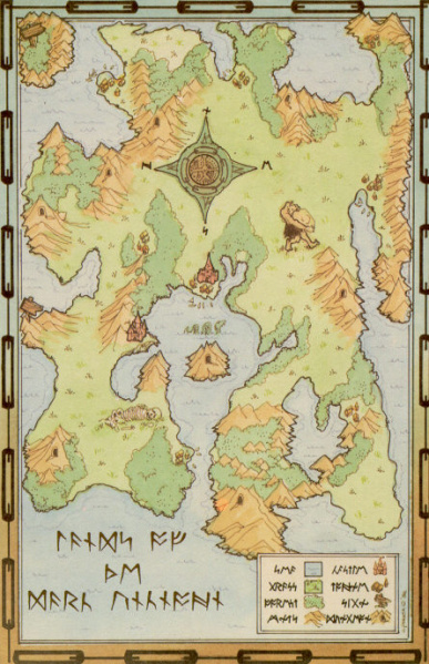 File:Ultima I - A2 - Map - Lands of the Dark Unknown.jpg
