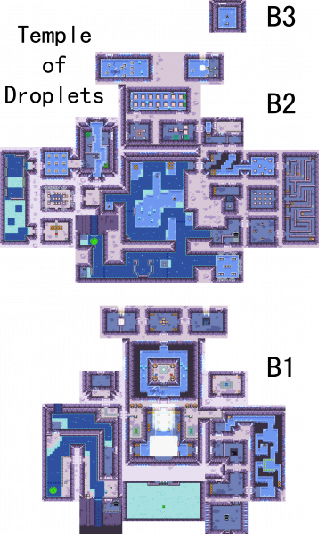 File:Legend of Zelda, The - Minish Cap, The - GBA - Map - Temple of Droplets.png