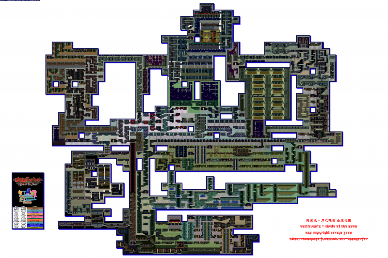 File:Castlevania - Circle of the Moon - GBA - Map - Castle.png
